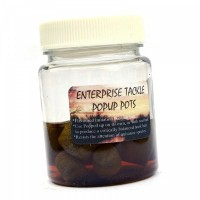 Pop Up Pots Pellets in Crab &Garlic Liquid пеллетс Enterprise Tackle