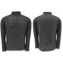 Downunder Merino Mid Zip Top Charcoal S блуза Simms