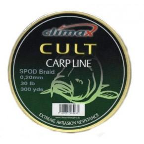 Cult Spod Braid 0,16mm 20lb 274 м желтый шнур Climax - Фото