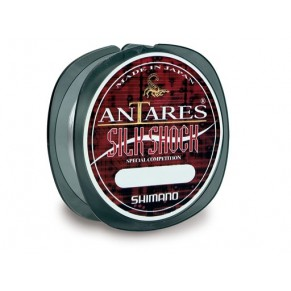 Antares Silk Shock 50m 0.22 леска Shimano - Фото