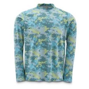 Solarflex LS Shirt Salt Digi Camo L рубашка Simms - Фото