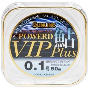 Powerd Ayu Vip Plus 50м #0.125/0.058мм 0,39кг леска Sunline - Фото