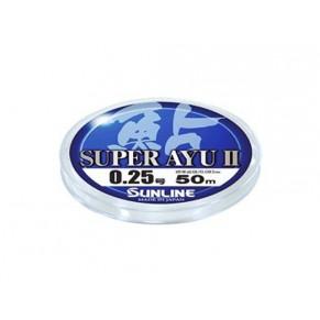 Super Ayu II 50м HG #0,2 0.074мм леска Sunline - Фото