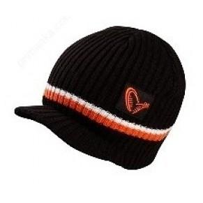 Knitted Beanie w/brim шапка вязаная Savage Gear - Фото