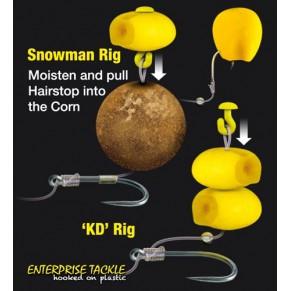 Imitation Sweetcorn Buoyant Yellow насадка Enterprise Tackle - Фото