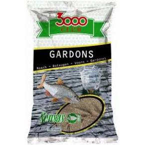 3000 Gardons Big roach black большая плотва черная 1кг прикормка Sensas - Фото