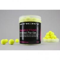 Pineapple&Butyric Pop Ups 12mm Tub бойлы Sticky Baits
