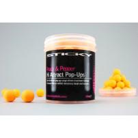 Peach&Pepper Pop Ups 12mm Tub бойлы Sticky Baits
