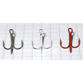 83210008 Treble hook # 8 silver Elite Alliance - Фото