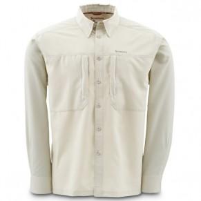 BugStopper NFZ Shirt Birch L рубашка Simms - Фото