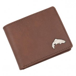 Big Sky Wallet Brown кошелек Simms - Фото