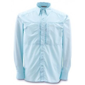 Ultralight Shirt Ice Blue L рубашка Simms - Фото