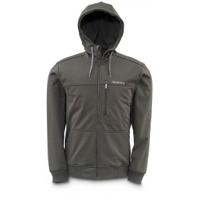 Rogue Fleece Hoody Coal L куртка Simms - Фото
