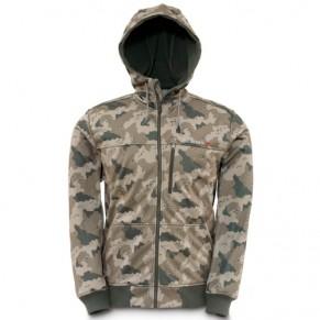 Rogue Fleece Hoody Pro Guide Camo XL куртка Simms - Фото