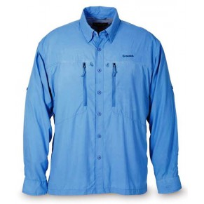 Bluewater Shirt Blue L рубашка - Фото