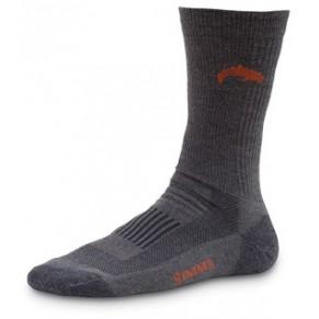 Sport Crew Sock Charcoal L носки Simms - Фото