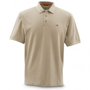 Trout Polo Taupe S футболка - Фото