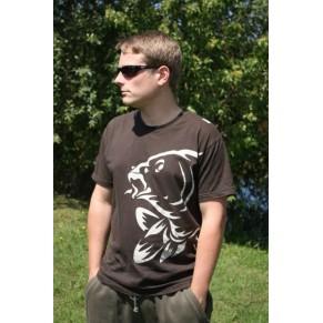 T-Shirt Brown L футболки Nash - Фото