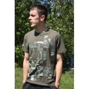 T-Shirt Green M футболка Nash - Фото