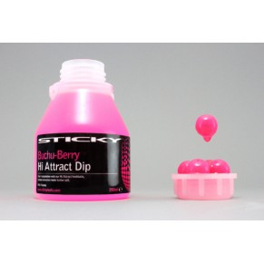 BuchuBerry Hi-Attract Dip - 1*250ml Glug Tub Sticky Baits - Фото