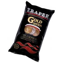 Gold 1кг Champion красная прикормка Traper