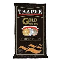 Gold 1кг Competition черная прикормка Traper