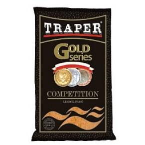 Gold 1кг Competition черная прикормка Traper - Фото