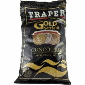 Gold 1кг Concours черная прикормка Traper - Фото