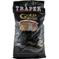 Gold 1кг Magic черная прикормка Traper