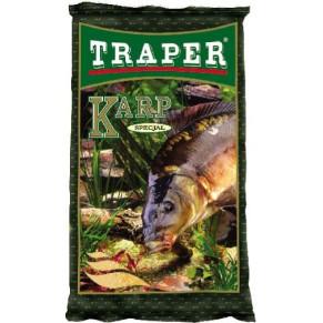 Special 1kg карп прикормка Traper - Фото