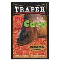 Big Carp 2,5kg клубника прикормка Traper...