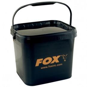 Carp Bucket 11.8Ltr black ведро Fox - Фото