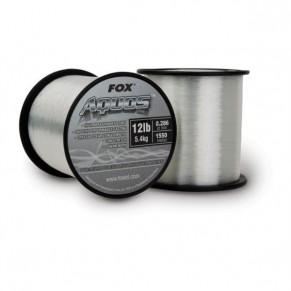 Aquos 15lb 0.309mm прозр. леска Fox - Фото