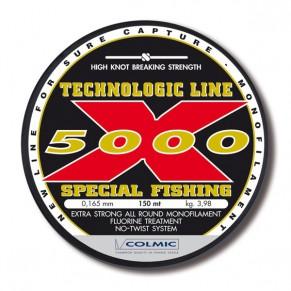 X-5000 0.22mm 150m леска Colmic - Фото