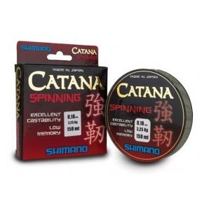 Catana Spinning 150m 0.185mm леска Shimano - Фото