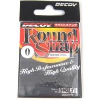 Round Snap 000, 12lb, 13 шт застежка Decoy