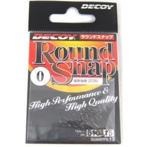 Round Snap 000, 12lb, 13 шт застежка Decoy - Фото
