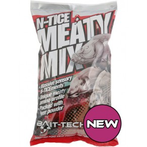 N-tice Meaty Mix Groundbait 2k прикормка Bait-Tech - Фото