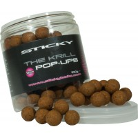 The Krill Pop Ups 12mm бойлы Sticky Baits