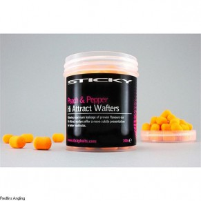 Peach&Pepper Wafters Tub бойлы Sticky Baits - Фото