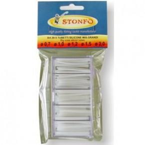 Кембрик силиконовый Stonfo 30-4 диам. 0,2-0,3-0,5-0,7-1мм - Фото
