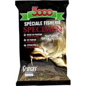 3000 Specimen sweet corn сладкая кукуруза 1кг прикормка Sensas - Фото