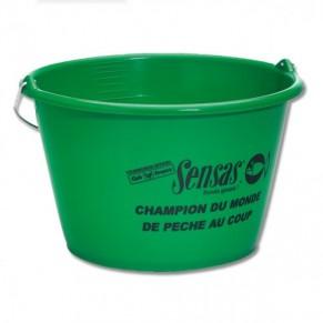 Groundbait Bucket 25L ведро Sensas - Фото