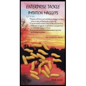Imitation Maggots Bronze насадка Enterprise Tackle - Фото
