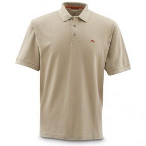 Trout Polo Taupe M футболка Simms - Фото