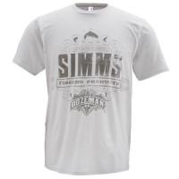 T-Shirt Insignia SS Grey L футболка Simms