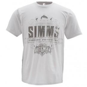 T-Shirt Insignia SS Grey L футболка Simms - Фото