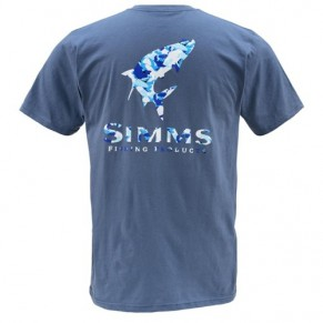 T-Shirt Tarpon Camo SS River M футболка Simms - Фото