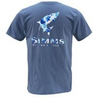 T-Shirt Tarpon Camo SS River L футболка Simms