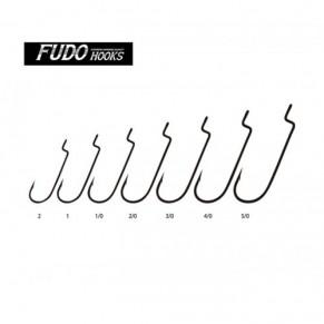 Крючки FUDO WORM 104 SF 1/0 - Фото